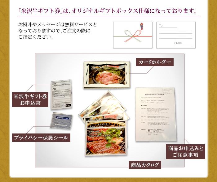 米沢牛通販の米沢牛カタログギフトのご注文からお届けまでの手順03