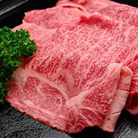 米沢牛肩ロースすき焼き用(300g)