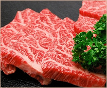 米沢牛上カルビ焼肉用(500g)